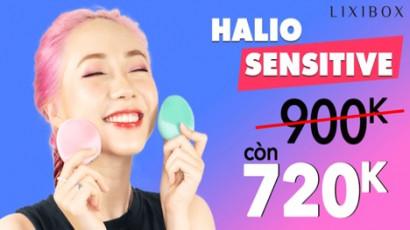 Đánh giá Máy rửa mặt Halio Sensitive – Phiên bản mới siêu xịn xò cho da nhạy cảm