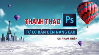 Review khóa học online Thành thạo Photoshop từ cơ bản đến nâng cao trên Unica